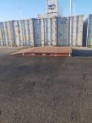 Oprijplaten-containers